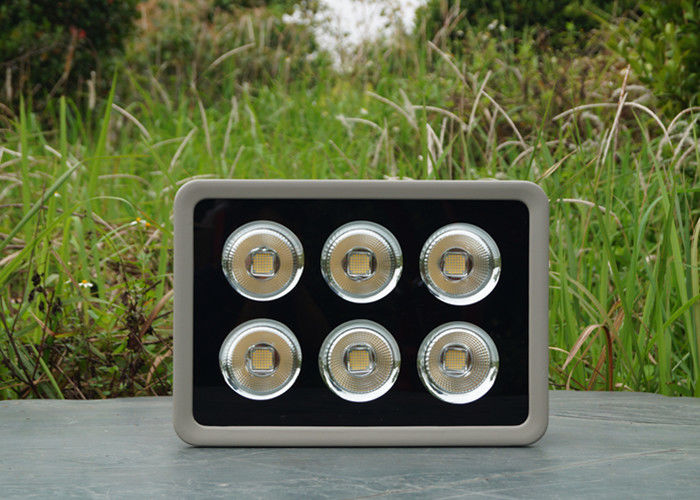 Warm White Exterior LED Flood Lights 60 Degree Beam Angle 50000 Hours Life